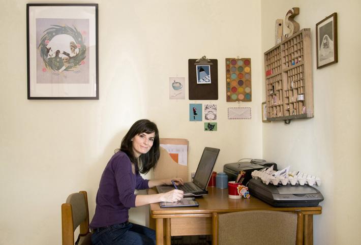 Sara Olmos - Studio
