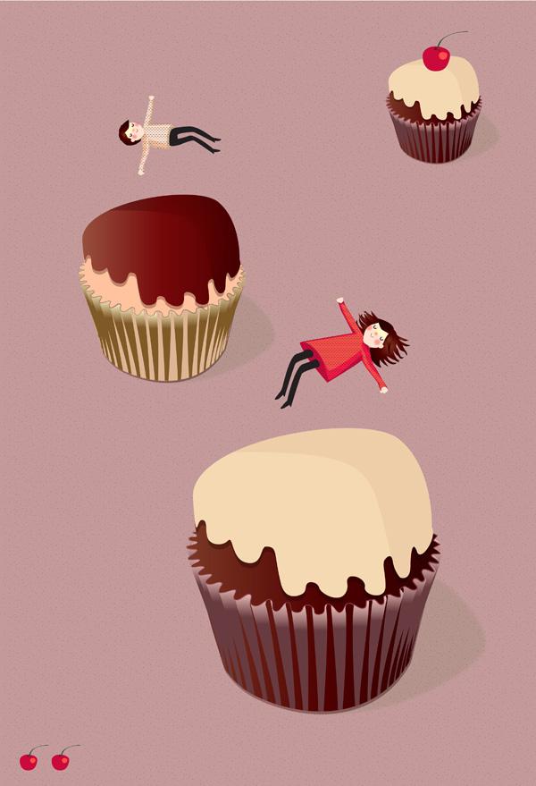 Sara Olmos - Cupcake trampolines